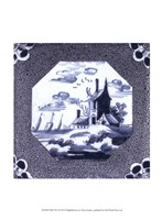 "Delft Tile I by Vision Studio - 10"" x 13"", FulcrumGallery.com brand"