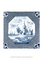 "Delft Tile II by Vision Studio - 10"" x 13"", FulcrumGallery.com brand"