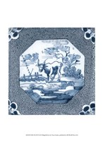 "Delft Tile III by Vision Studio - 10"" x 13"", FulcrumGallery.com brand"