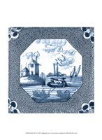 "Delft Tile IV by Vision Studio - 10"" x 13"", FulcrumGallery.com brand"