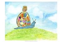 """Meadow Snail by Ingrid Blixt - 19"""" x 13"""""""