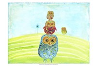 "Owl Totem by Ingrid Blixt - 19"" x 13"" - $12.99"