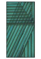 Line Study Blue Fine Art Print