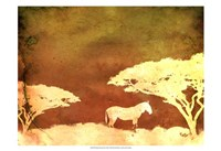 Safari Sunrise III Fine Art Print