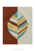"Apache Leaf I by Vanna Lam - 13"" x 19"""