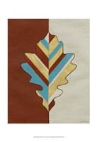 "Apache Leaf IV by Vanna Lam - 13"" x 19"""
