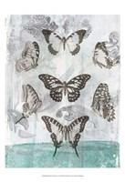 "Butterflies & Filigree I by Jennifer Goldberger - 13"" x 19"""