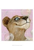 """Bubbles - Ann by Dlynn Roll - 13"""" x 19"""""""