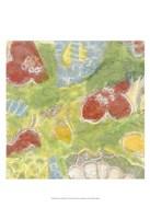 "Encaustic Whimsy I by Karen Deans - 13"" x 19"""