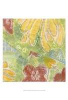 """Encaustic Whimsy II by Karen Deans - 13"""" x 19"""""""