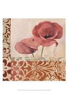 Portrait of Poppies Fine Art Print