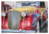 '38 Packard Phaeton Body Fine Art Print