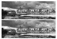 Skyscape City Panorama Fine Art Print