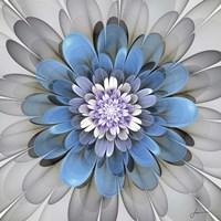 Fractal Blooms III Fine Art Print