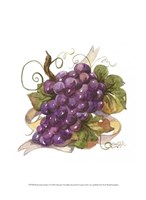 "Watercolor Grapes I by Jerianne Van Dijk - 10"" x 13"""