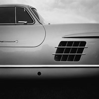 '53 Gull Wing Fine Art Print
