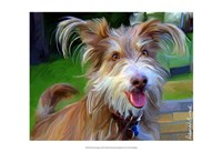 "Terrier Hairspray by Robert McClintock - 19"" x 13"""