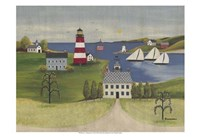 """Sea to Shining Sea by Wendy Russell - 19"""" x 13"""" - $12.99"""