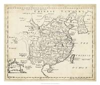 Map of China Fine Art Print