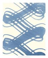 "Macrame Blue I by Vanna Lam - 18"" x 22"""