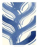 "Macrame Blue IV by Vanna Lam - 18"" x 22"", FulcrumGallery.com brand"