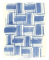 "Macrame Blue VI by Vanna Lam - 18"" x 22"", FulcrumGallery.com brand"