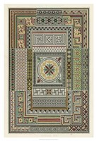 "Pompeian Design by Owen Jones - 26"" x 38"", FulcrumGallery.com brand"