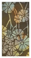 """May Floral I by Megan Meagher - 17"""" x 32"""""""