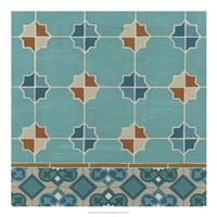 Moroccan Tile III Framed Print