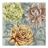 "Flower Fetti II by Jennifer Goldberger - 20"" x 20"", FulcrumGallery.com brand"