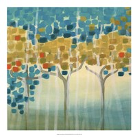 Forest Mosaic I Framed Print