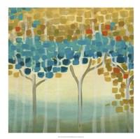 Forest Mosaic II Framed Print