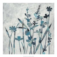 """Twilight Garden I by Chariklia Zarris - 20"""" x 20"""", FulcrumGallery.com brand"""