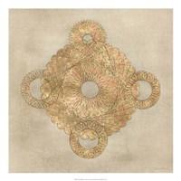 """Solar Medallion I by Vanna Lam - 22"""" x 22"""""""