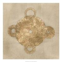 "Solar Medallion II by Vanna Lam - 22"" x 22"""