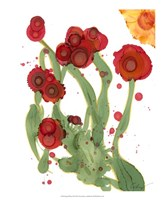 Poppy Whimsy III Fine Art Print