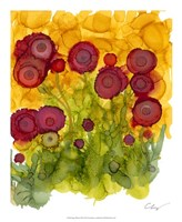 "Poppy Whimsy VIII by Cheryl Baynes - 18"" x 22"""
