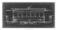 "Vintage Street Car II by Ethan Harper - 26"" x 14"""