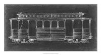 "Vintage Street Car III by Ethan Harper - 26"" x 14"""