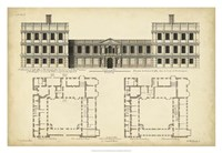 "Elevation & Plan for Castle Abby by Marilee Campbell - 32"" x 22"""