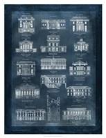 Maisons a Paris Fine Art Print