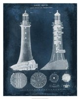 "Lighthouse Blueprint by Vision Studio - 26"" x 32"", FulcrumGallery.com brand"