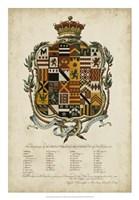 Edmondson Heraldry II Fine Art Print