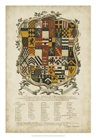 Edmondson Heraldry III Fine Art Print