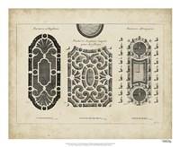 "Garden Parterre II by DeZallier D'Argenville - 22"" x 18"" - $27.99"