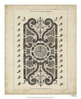 """Garden Parterre VII by DeZallier D'Argenville - 18"""" x 22"""" - $27.99"""