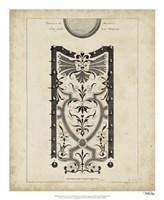 """Garden Parterre IX by DeZallier D'Argenville - 18"""" x 22"""" - $27.99"""