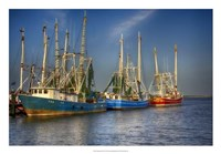 "Shrimp Boats III by Danny Head - 26"" x 18"""