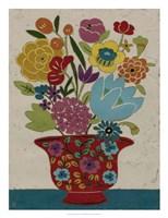 Sentimental Bouquet II Framed Print