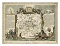 Atlas Nationale Illustre I Fine Art Print
